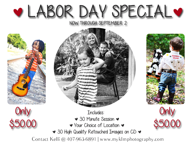 Labor Day Special | Now through September 2